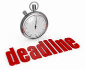 Concept Of Deadline   Clipart Graphic
