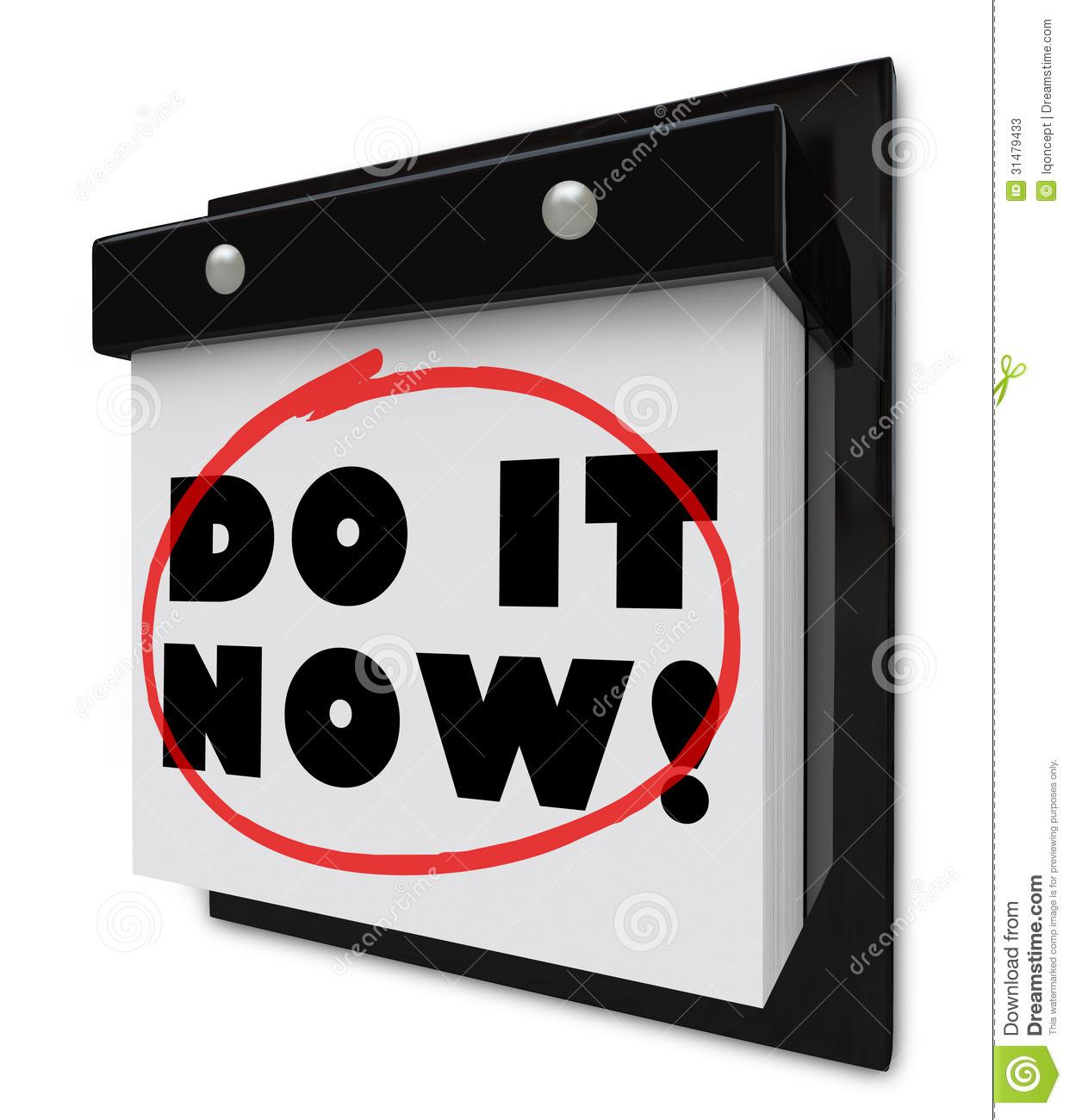 Deadline Clipart Do Now Wall Calendar Urgent Demand Deadline Words To