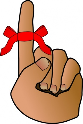 Deadline Clipart Reminder Hand Clip Art Jpg