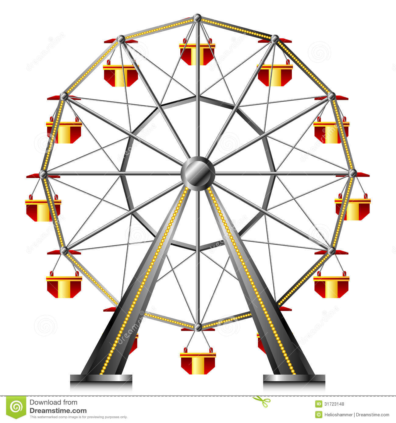 Ferris Wheel Clipart - Clipart Kid