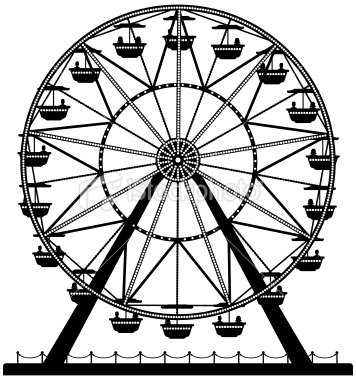 Ferris Wheel Clipart - Clipart Suggest