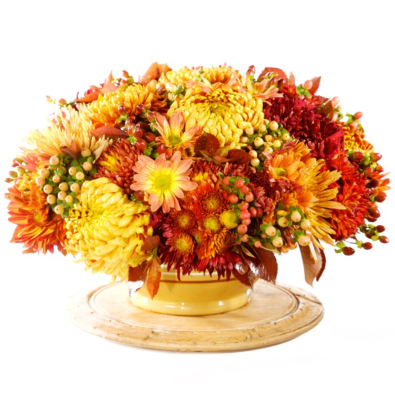 Fall flower arrangements clip art cliparts