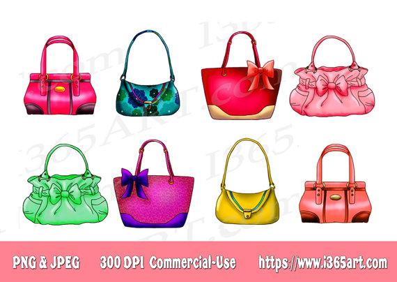 Designer Handbag Clipart - Clipart Kid
