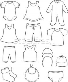 Pages On Pinterest   Winter Clothes Coloring Pages And Babies Clothes
