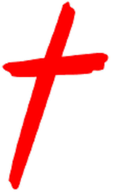 Red Christian Cross A Christian Community Website