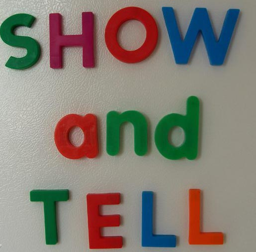 Remember Show And Tell In Grammar School Show And Tell Was A Popular