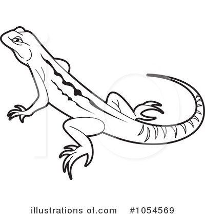 Royalty Free Lizard Clipart Illustration 1054569 Jpg