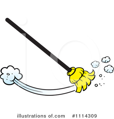 Royalty Free  Rf  Sweeping Clipart Illustration  1114309 By Johnny