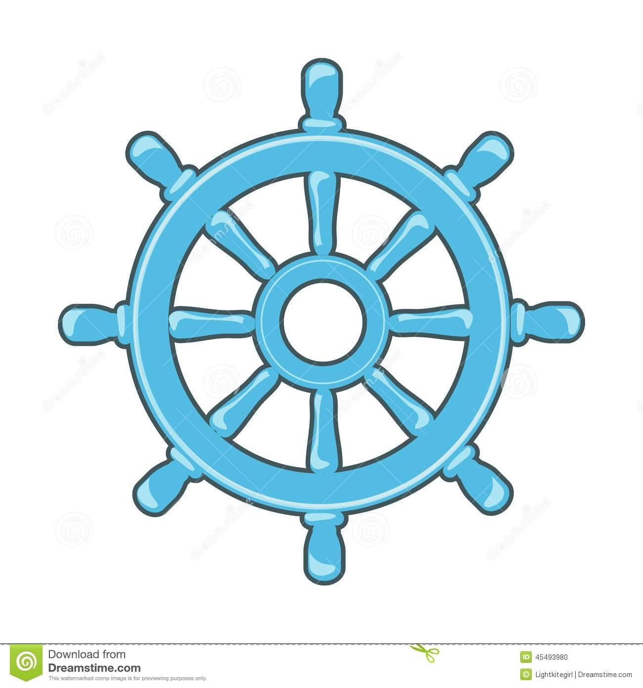Nautical Wheel Clipart - Clipart Suggest