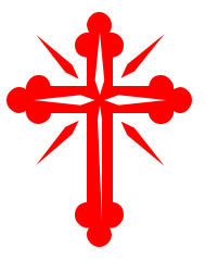 Red Christian Cross Clipart - Clipart Kid