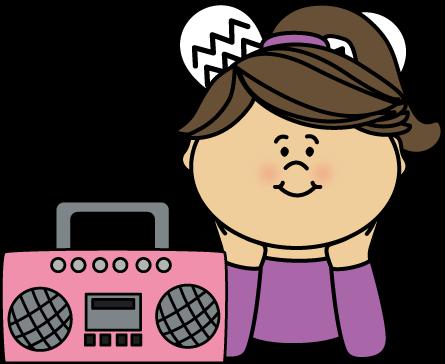 Music Clip Art Listening To