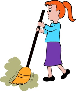 Sweeping Clipart - Clipart Kid