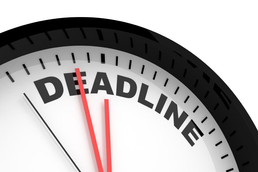 Tax Deadline Clipart