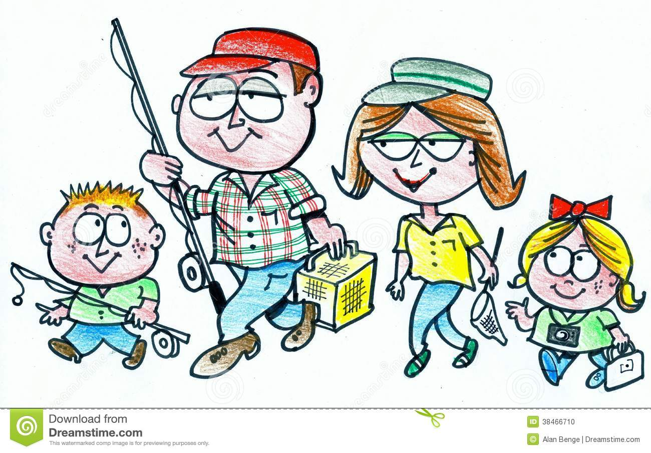 Family Eating Together As A Clipart