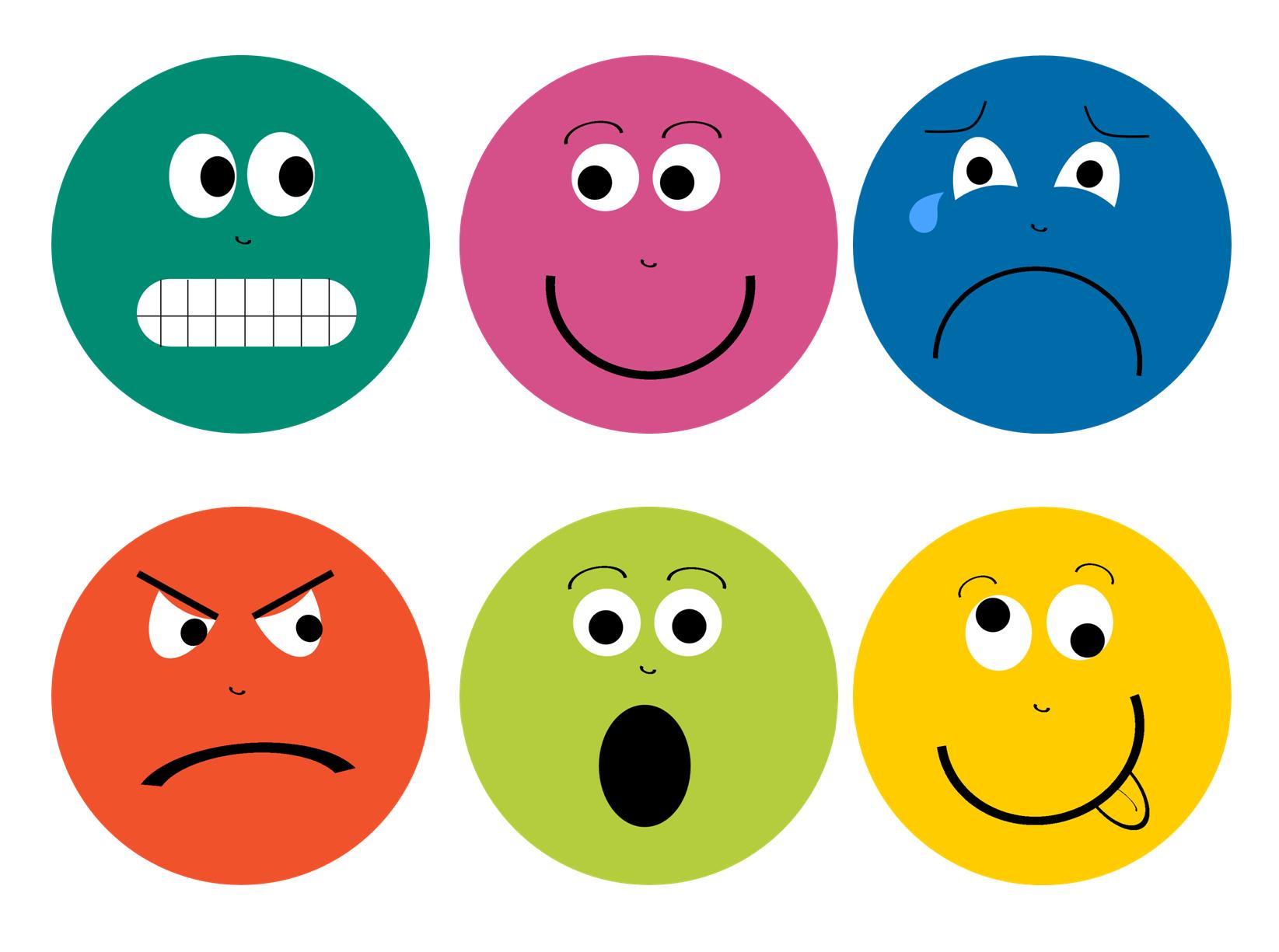 Feelings Faces Happy Feelings Faces Printable