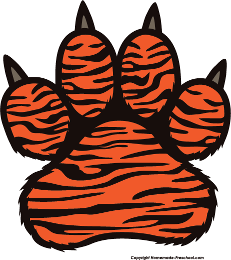 tiger paw print clipart clipart suggest auburn tiger paw clip art auburn tigers clipart cartoon