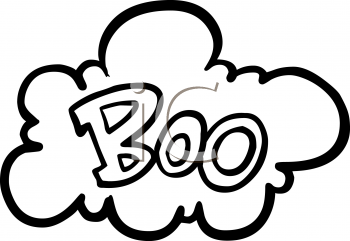 Clip Art Boo Clipart clip art of the word boo clipart kid image halloween graphic design element a cloud with boo