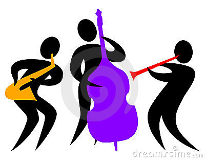 Jazz Band Silhouette Jazz Band Clip Art