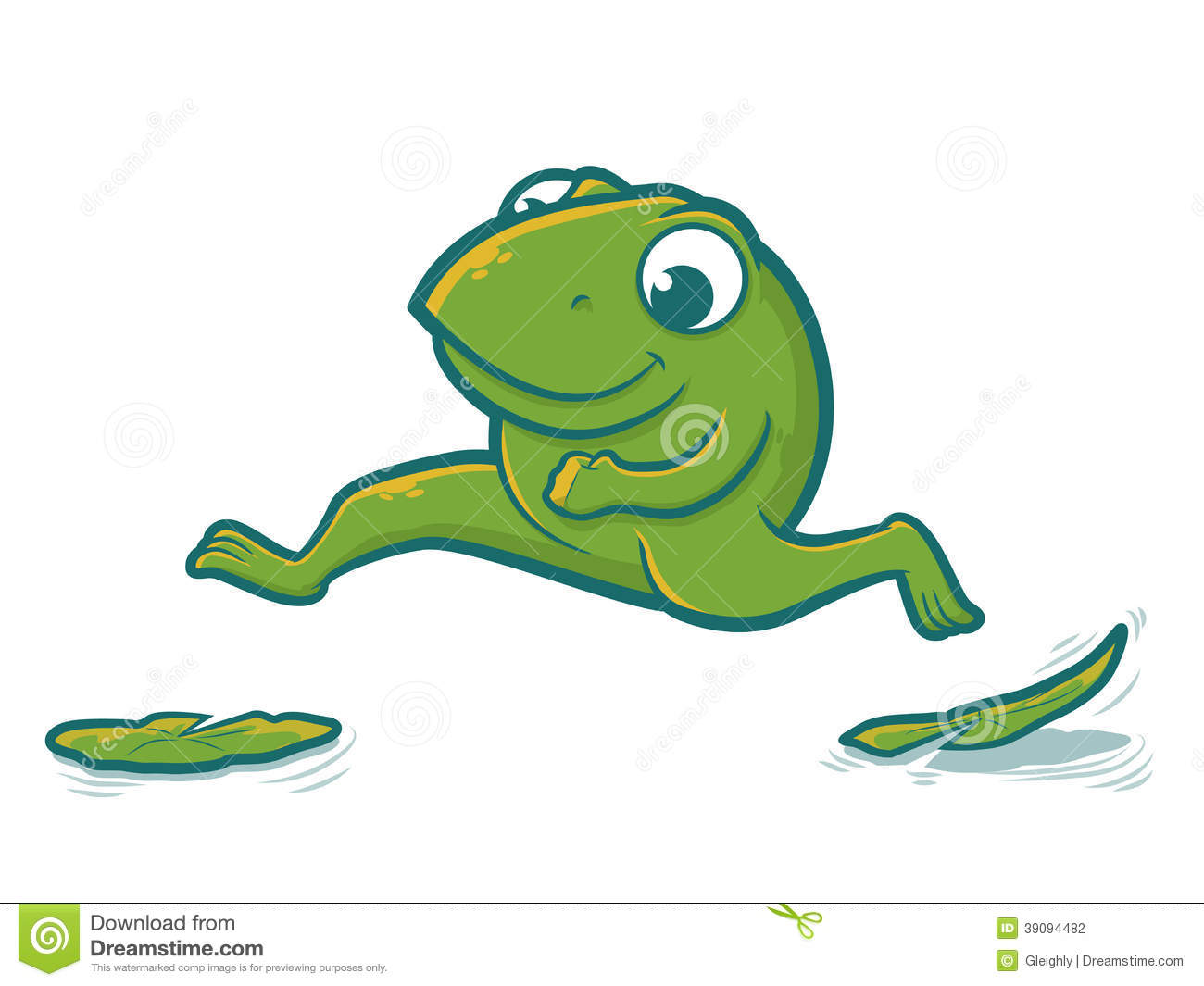 Leaping Frog Clipart Leaping Frog