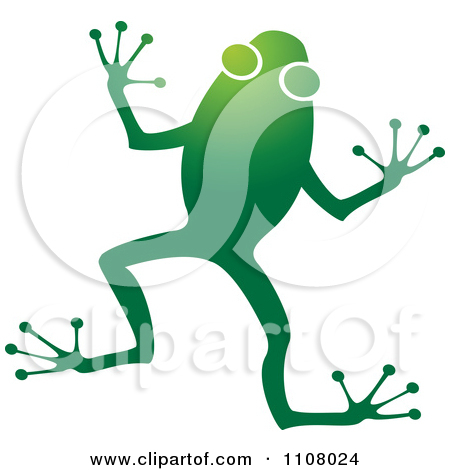 Royalty Free Illustrations Of Green Frogs By Lal Perera  1