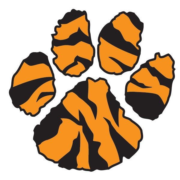 Tiger Paw Print Clip Art Tiger Paw Print Clip Art Cliparts Co