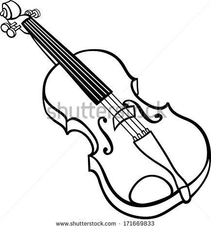 Violin Clipart Black And White   Clipart Panda   Free Clipart Images