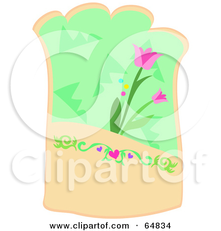 Royalty Free  Rf  Illustrations   Clipart Of Tulips  5