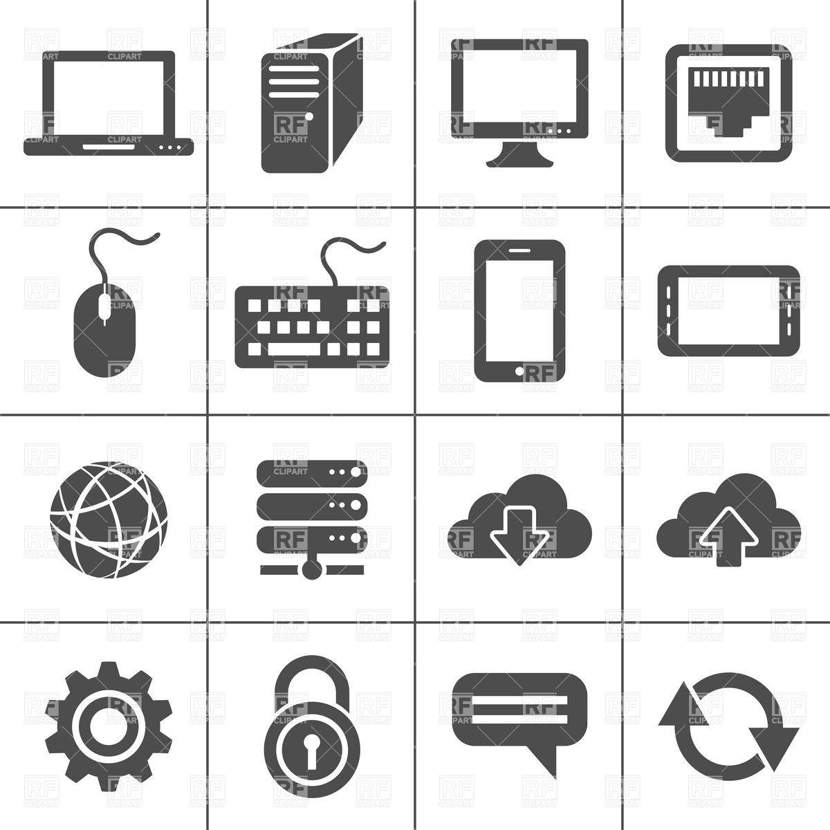 Series 5939 Technology Download Royalty Free Vector Clip Art  Eps