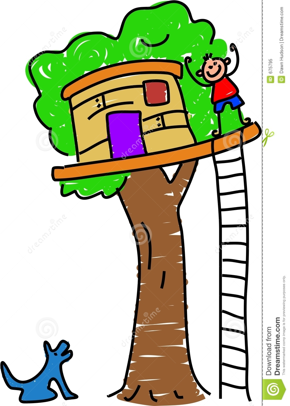clipart pictures tree house - photo #23