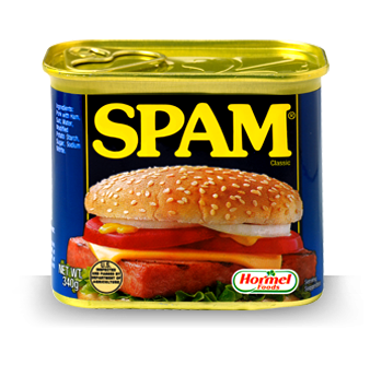 Found That Spam Tastes Like Salty Ham   Very Very Salty Ham  It