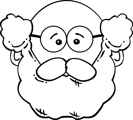 Guuy With Beard Clipart - Clipart Kid
