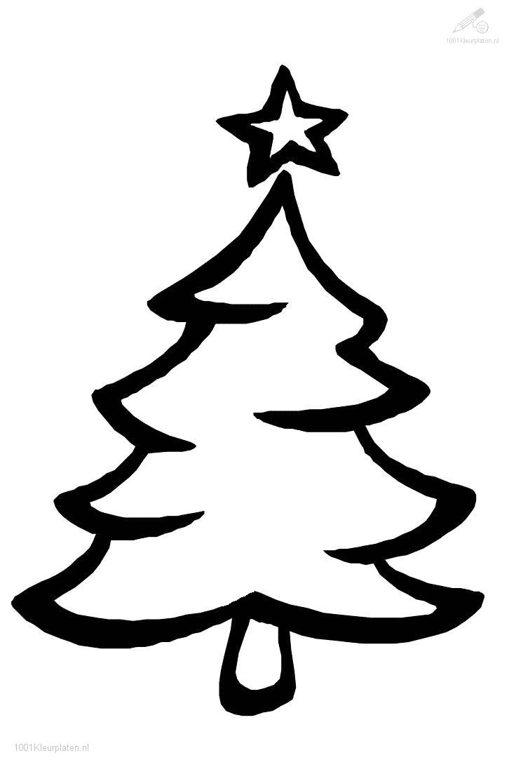 10 Christmas Tree Outline Clip Art Free Cliparts That You Can Download