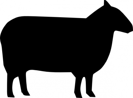 20 Farm Animal Silhouette Free Cliparts That You Can Download To You