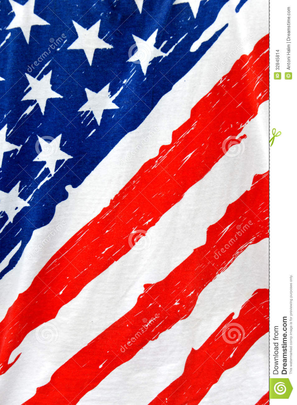 American Flag Stock Images   Image  32845814