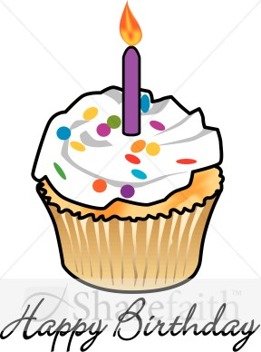 Art Birthday Cupcakes Cliparthappy Birthday Cupcake Clipart Clipart
