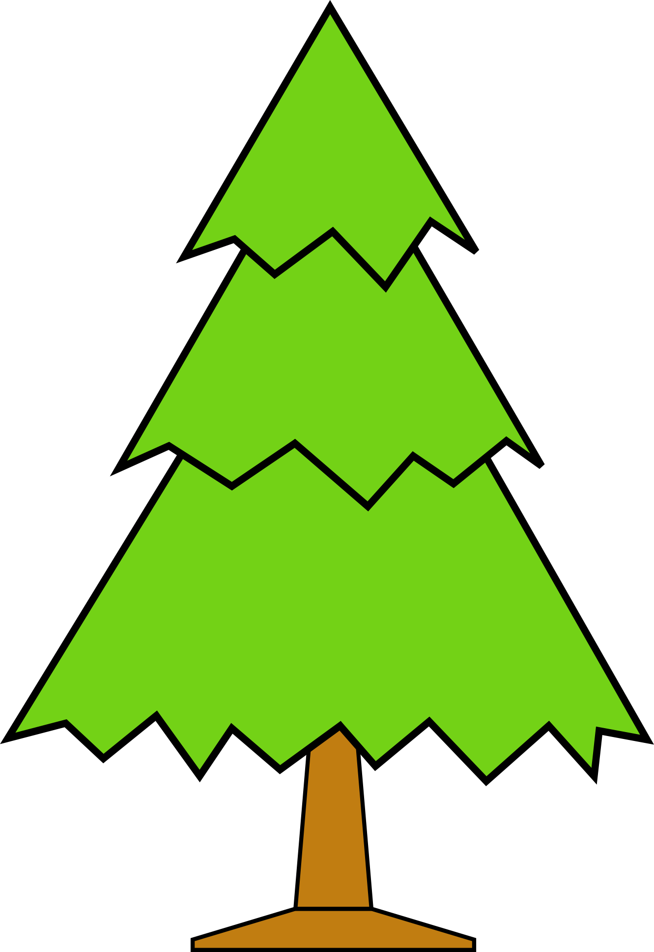 Clipart Christmas Tree With Presents   Clipart Panda   Free Clipart