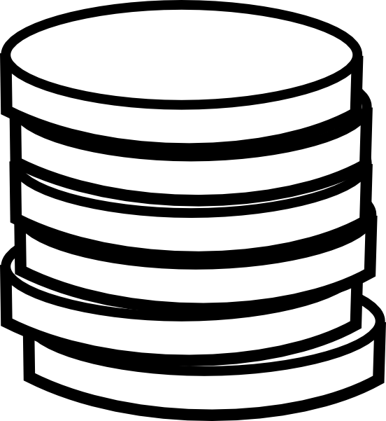 Black And White Cartoon Money Clipart - Clipart Suggest
