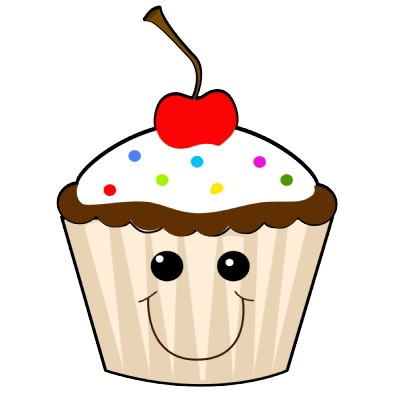 Happy Birthday Cupcake Clipart - Clipart Kid