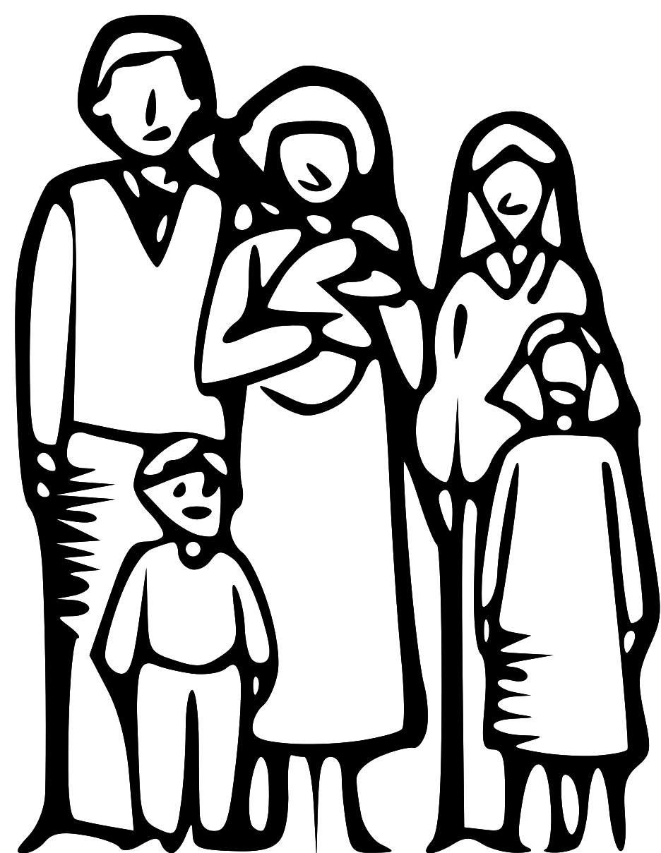 Family Clipart Black And White   Clipart Panda   Free Clipart Images