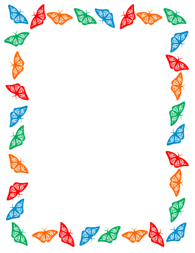 Spring Borders Clipart - Clipart Kid