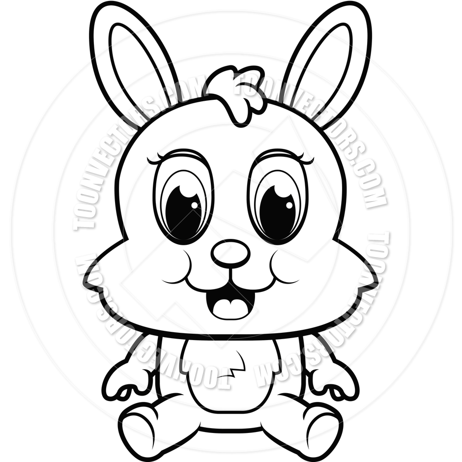 Go Back   Pix For   Rabbit Clipart Black And White
