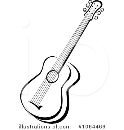 Guitar Clipart Black And White Images   Pictures   Becuo