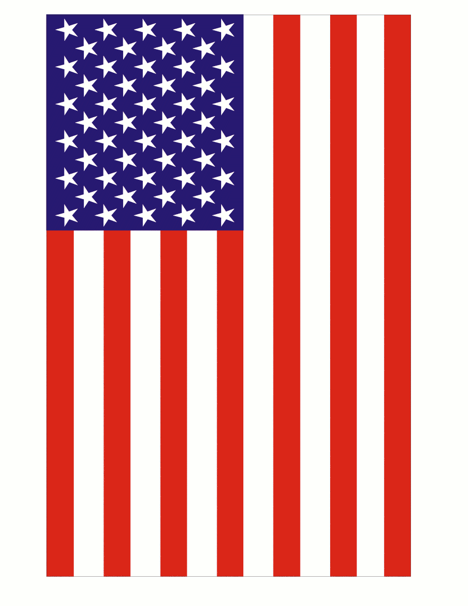 Large Vertical Us Flag   Http   Www Wpclipart Com Holiday Veterans Day