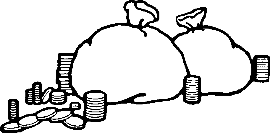 Money Clipart Black And White   Clipart Panda   Free Clipart Images