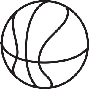 Sports Black And White Ball Clipart - Clipart Kid