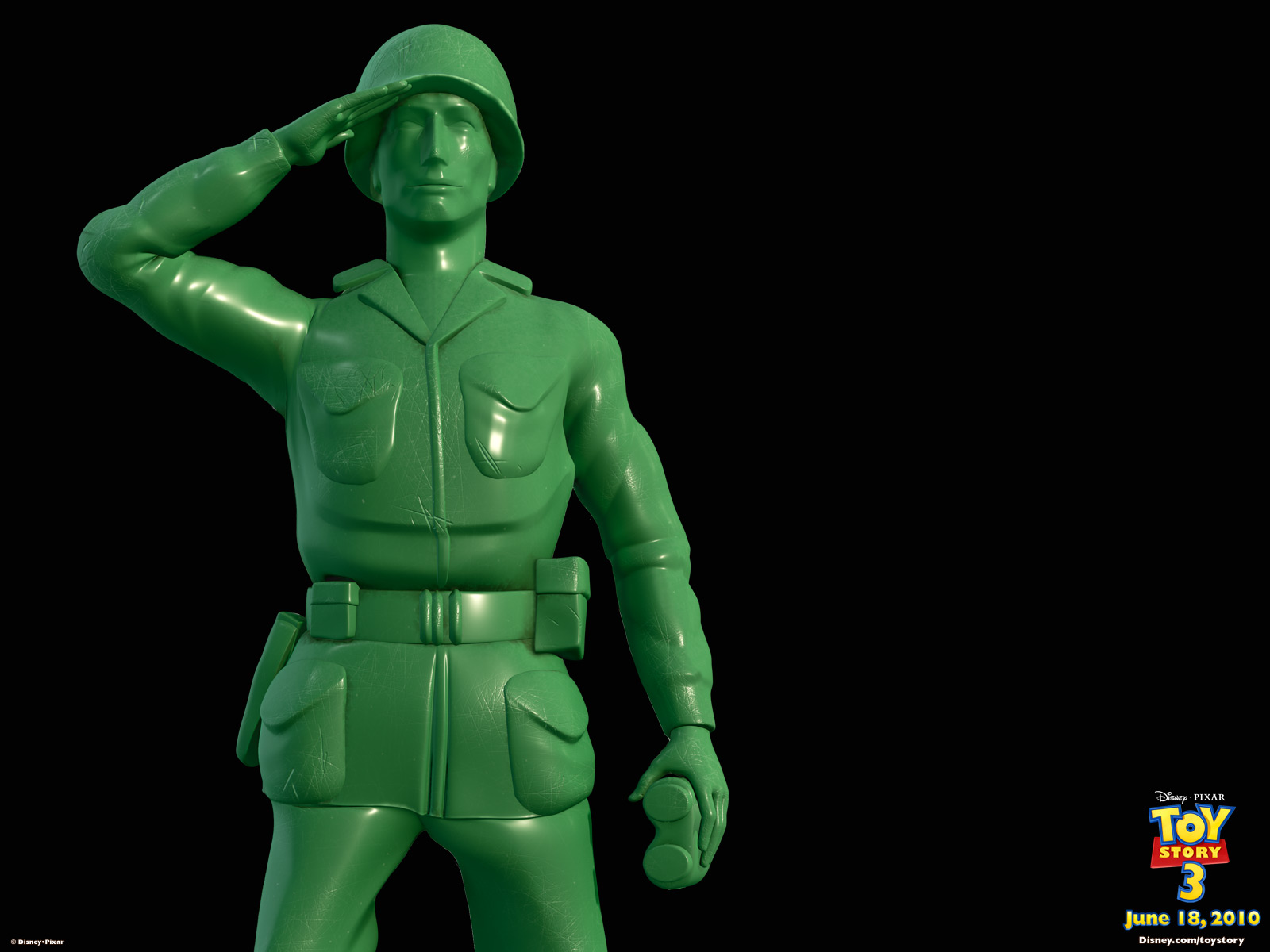 Sarge Green Army Man From Toy Story Wallpaper   Click Picture For High
