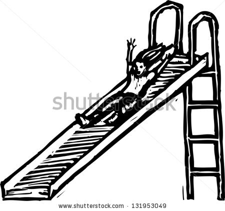 Slide Clipart Black And White Stock Vector Black And White Vector