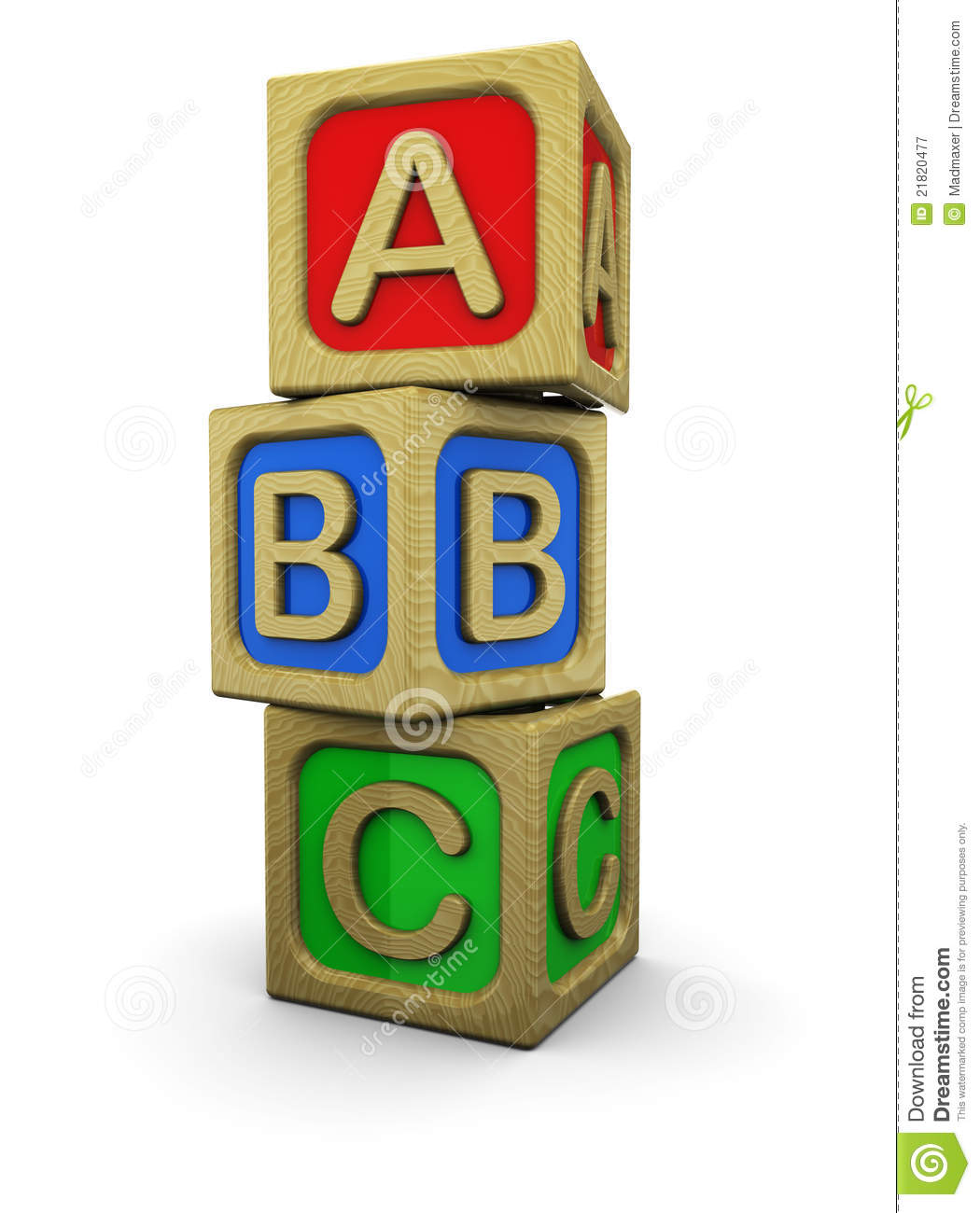 Abc Blocks Clipart Black And White Abc Blocks 21820477 Jpg