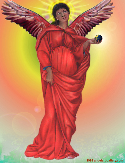 Africa   Guardian Angel Of Africa   The Spirit Of Africa