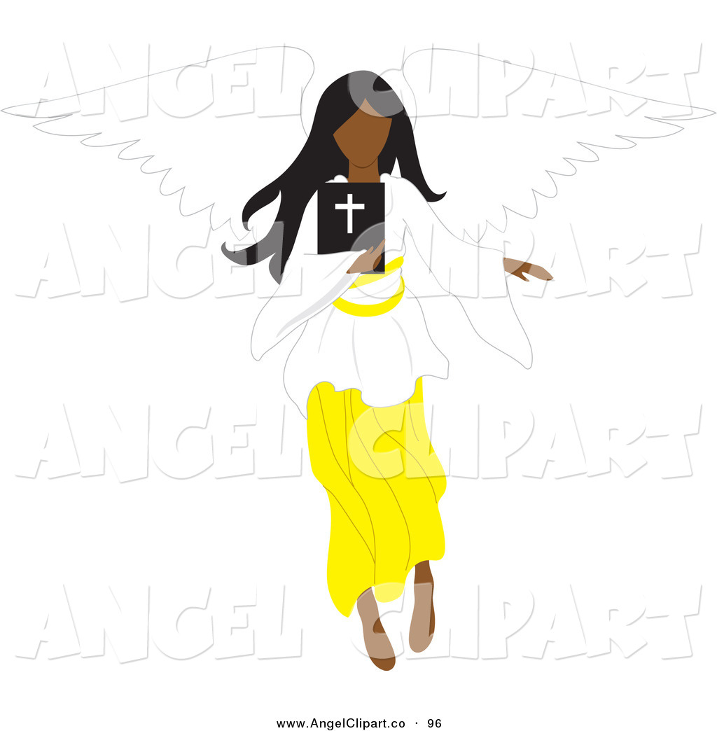 African American Angels Clip Art Royalty Free African American